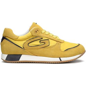 Zapatos Hombre Deportivas Moda Alberto Guardiani AGM003513 Amarillo