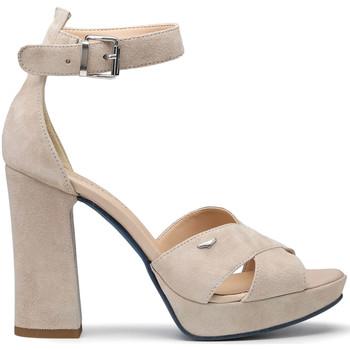 Zapatos Mujer Sandalias Alberto Guardiani AGW002700 Beige