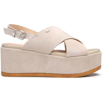 Zapatos Mujer Sandalias Alberto Guardiani AGW003000 Beige