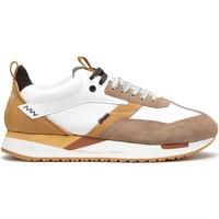 Zapatos Hombre Zapatillas bajas Alberto Guardiani AGU101061 Blanco