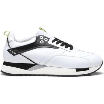 Zapatos Hombre Zapatillas bajas Alberto Guardiani AGU101155 Blanco
