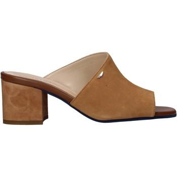 Zapatos Mujer Zuecos (Mules) Alberto Guardiani AGW003301 Marrón