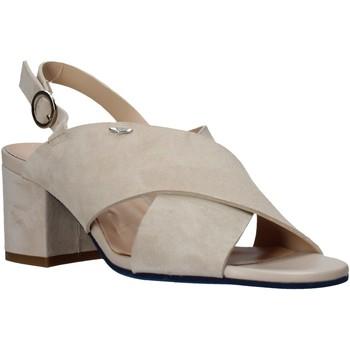 Zapatos Mujer Sandalias Alberto Guardiani AGW003400 Beige
