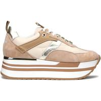 Zapatos Mujer Deportivas Moda Alberto Guardiani AGW004304 Beige