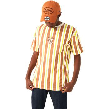 textil Hombre Camisetas manga corta New-Era 12720144 Marrón