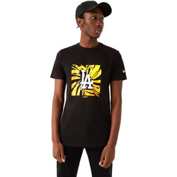 textil Hombre Camisetas manga corta New-Era 12720171 Negro