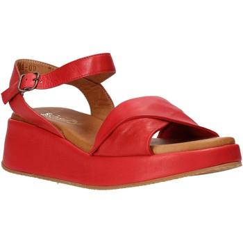 Zapatos Mujer Sandalias Sshady L2402 Rojo