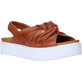 Zapatos Mujer Sandalias Sshady MRT77 Marrón