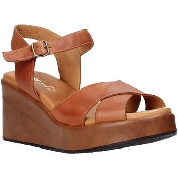 Zapatos Mujer Sandalias Sshady L2503 Marrón