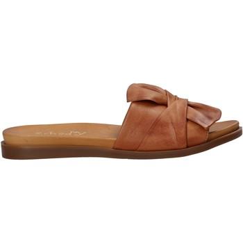 Zapatos Mujer Zuecos (Mules) Sshady MRT231 Marrón