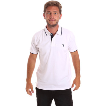 textil Hombre Polos manga corta U.S Polo Assn. 51139 49785 Blanco