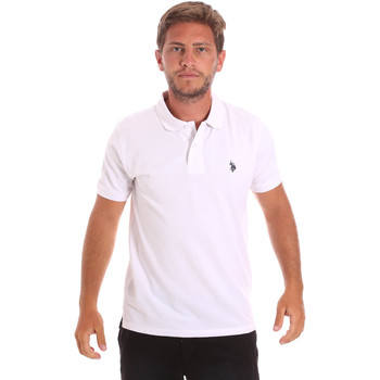 textil Hombre Polos manga corta U.S Polo Assn. 51007 49785 Blanco
