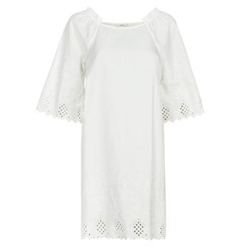 textil Mujer Vestidos cortos Only ONLLILLO Blanco