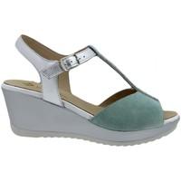 Zapatos Mujer Sandalias Piesanto 200350 Verde