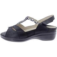 Zapatos Mujer Sandalias Piesanto 200404 Negro