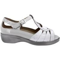 Zapatos Mujer Sandalias Piesanto 200410 Plata