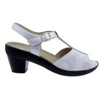 Zapatos Mujer Sandalias Piesanto 200448 Blanco