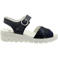 Zapatos Mujer Sandalias Piesanto 200778 Azul