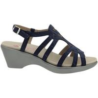 Zapatos Mujer Sandalias Piesanto 200859 Azul