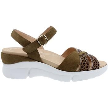 Zapatos Mujer Sandalias Piesanto 200879 Marrón