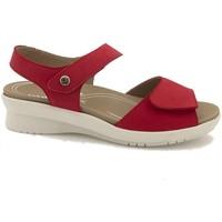 Zapatos Mujer Sandalias Piesanto 210892 Rojo