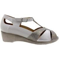 Zapatos Mujer Sandalias Piesanto 1160 Gris