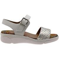 Zapatos Mujer Sandalias Piesanto 1501 Blanco