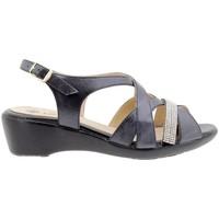 Zapatos Mujer Sandalias Piesanto 1558 Negro