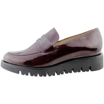Zapatos Mujer Mocasín Piesanto 175707 Burdeo