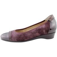 Zapatos Mujer Bailarinas-manoletinas Piesanto 175723 Burdeo