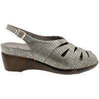 Zapatos Mujer Sandalias Piesanto 180154 Beig