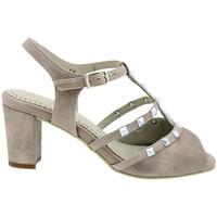 Zapatos Mujer Sandalias Piesanto 180257 Marrón