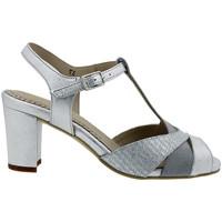 Zapatos Mujer Sandalias Piesanto 180258 Plata