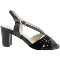 Zapatos Mujer Sandalias Piesanto 180260 Negro