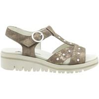 Zapatos Mujer Sandalias Piesanto 180783 Marrón