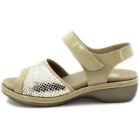 Zapatos Mujer Sandalias Piesanto 180816 Beig