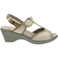 Zapatos Mujer Sandalias Piesanto 180863 Beig