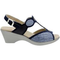 Zapatos Mujer Sandalias Piesanto 180863 Azul