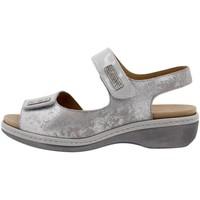 Zapatos Mujer Sandalias Piesanto 1818 Plata