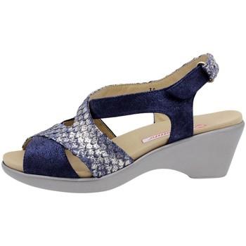 Zapatos Mujer Sandalias Piesanto 1861 Azul
