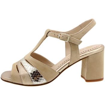 Zapatos Mujer Sandalias Piesanto 190258 Beig