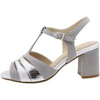 Zapatos Mujer Sandalias Piesanto 190258 Plata
