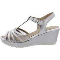 Zapatos Mujer Sandalias Piesanto 190351 Plata