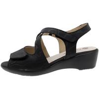 Zapatos Mujer Sandalias Piesanto 190381 Negro