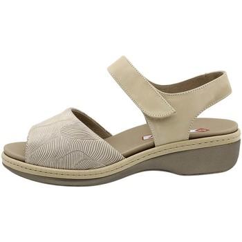 Zapatos Mujer Sandalias Piesanto 190807 Beig