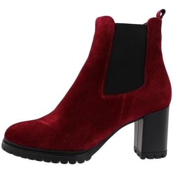 Zapatos Mujer Botines Piesanto 195432 Burdeo