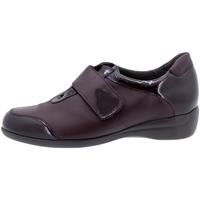 Zapatos Mujer Derbie Piesanto 195576 Burdeo