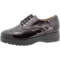 Zapatos Mujer Derbie Piesanto 195676 Burdeo