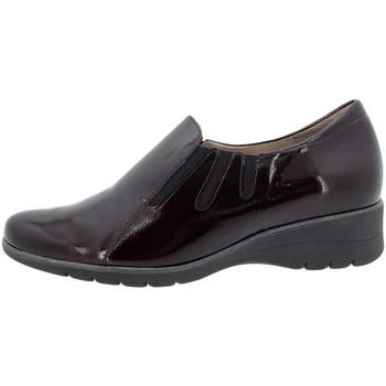 Zapatos Mujer Mocasín Piesanto 195958 Burdeo