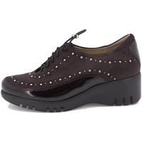 Zapatos Mujer Derbie Piesanto 205924 Burdeo